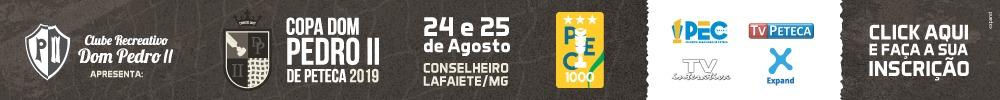 Copa Dom Pedro II de Peteca - Formulário de Inscrição