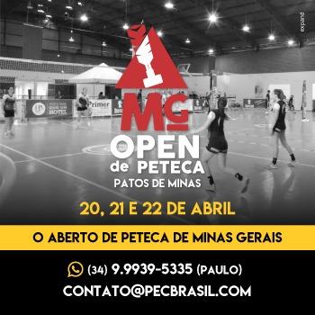 MG Open de Peteca - INSCRIÇÕES