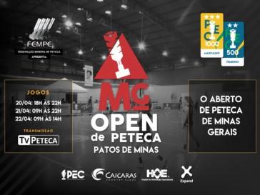 O evento contará com a presença de alguns dos melhores atletas do Ranking nacional.