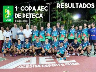 Resultados da Copa AEC de Peteca (PEC 250)