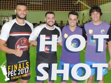 Hot Shot - Ataque de Ricardo Delgado no Finals PEC