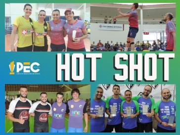 Novos vídeos na Série Hot Shots - Grandes lances da Peteca!