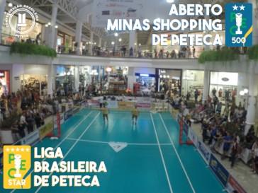Aberto Minas Shopping e Liga Brasileira de Peteca
