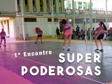 Torneio de Peteca exclusivamente feminino acontece no mês de comemoração do dia da Mulher e agita a Modalidade!!!