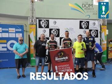 Resultados Copa Dom Pedro II de Peteca