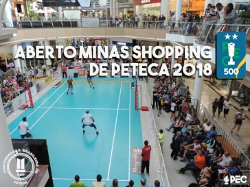 Resultados do Aberto Minas Shopping de Peteca (PEC 500)