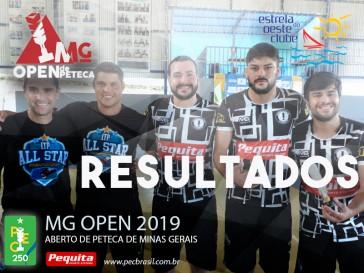 MG Open 2019 é sediado pelo clube Estrela do Oeste e recebe os melhores atletas de Peteca da região, além de destaques do Ranking Nacional da modalidade