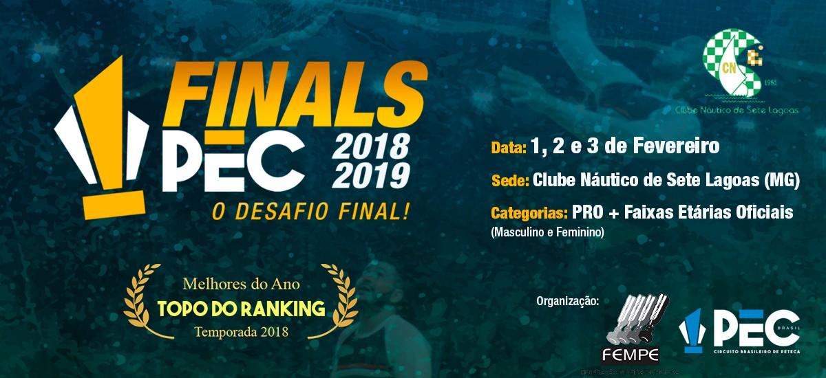 Finals PEC 2018-2019: O desafio final!