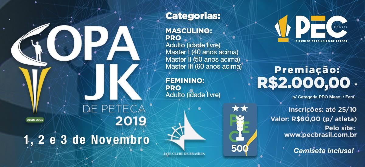 Copa JK de Peteca 2019