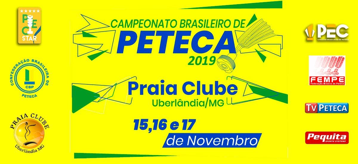 Campeonato Brasileiro de Peteca 2019