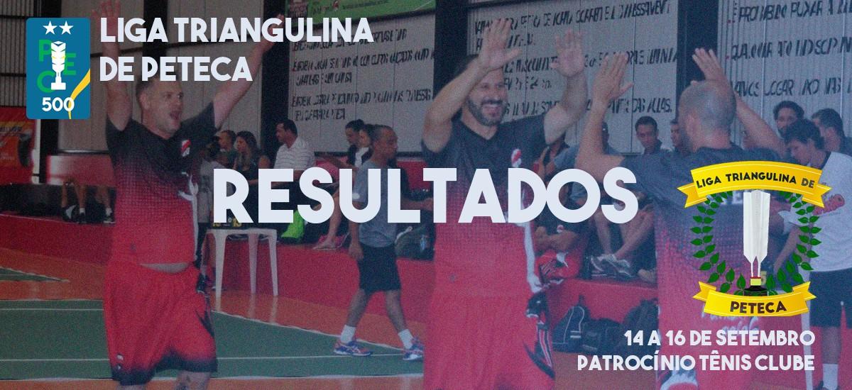 Resultados da Liga Triangulina de Peteca - 3ª Etapa