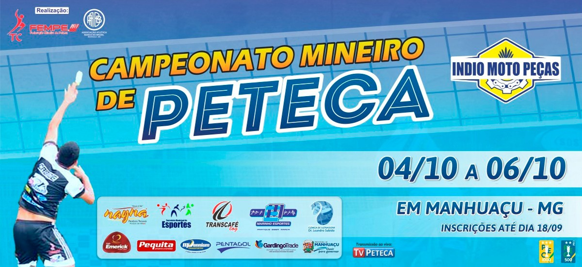 Campeonato Mineiro de Peteca 2019