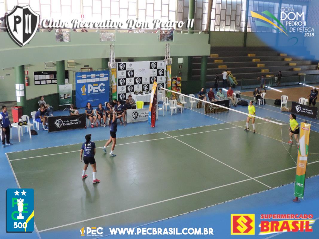 Copa Dom Pedro II de Peteca 2018