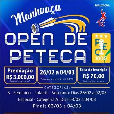 Manhuaçu Open de Peteca