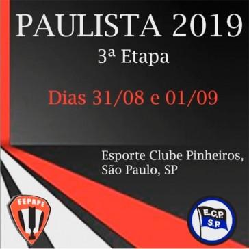 Campeonato Paulista de Peteca - 3ª Etapa