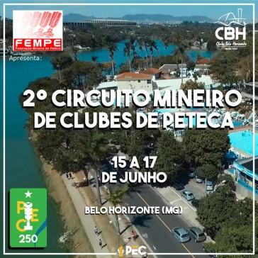 2º Circuito Mineiro de Clubes de Peteca