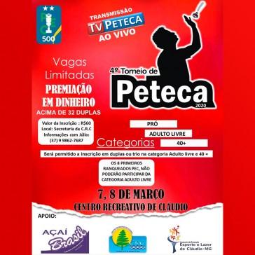 4º Torneio CRC de Peteca