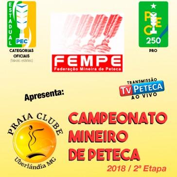 Campeonato Mineiro de Peteca - 2ª Etapa