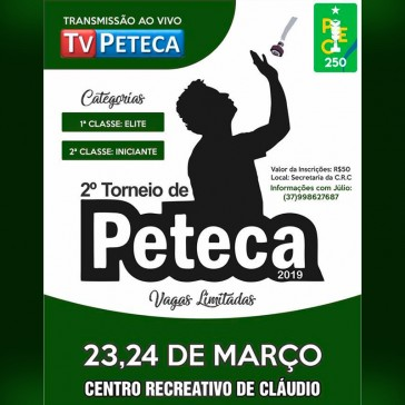 2º Torneio de Peteca