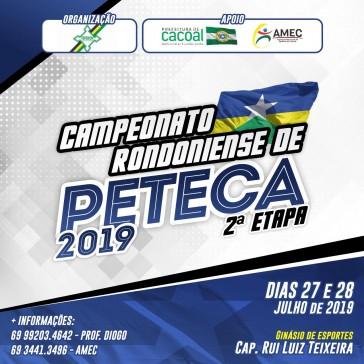 Campeonato Rondoniense de Peteca - 2ª Etapa