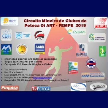 Circuito Mineiro de Peteca de Clubes