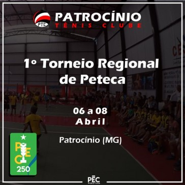 1º Torneio Regional de Peteca