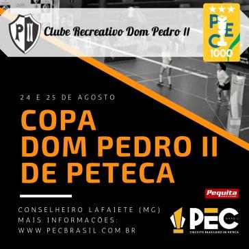 Copa Dom Pedro II de Peteca 2019