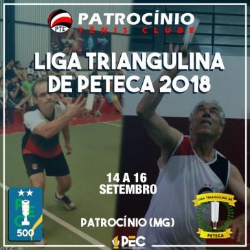 Liga Triangulina de Peteca 2018 - 3ª etapa