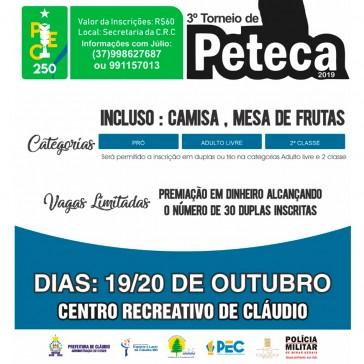 3º Torneio CRC de Peteca