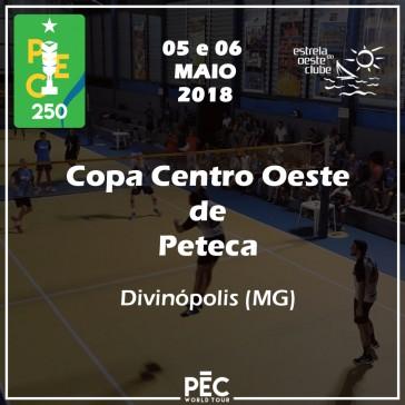 Copa Centro Oeste de Peteca - 1ª Etapa