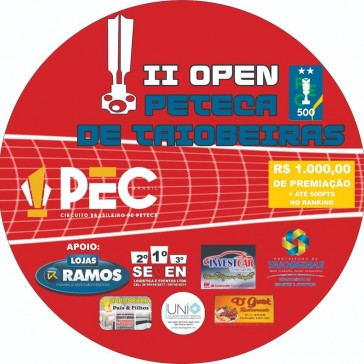 2º Open de Peteca de Taiobeiras